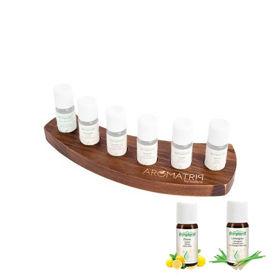 Slika Aromatrip komplet 1 s šestimi eteričnimi olji in stojalom, 1 set