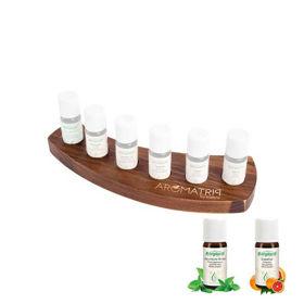 Slika Aromatrip komplet 2 s šestimi eteričnimi olji in stojalom, 1 set