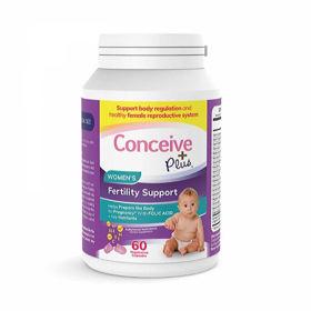 Slika Conceive Plus podpora plodnosti za ženske, 60 kapsul
