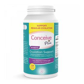 Slika Conceive Plus za podporo ženske ovulacije, 120 kapsul