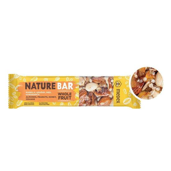 Medex Nature Bar ploščica pomaranča, 40 g