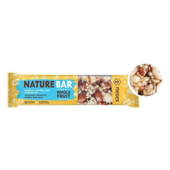 Medex Nature Bar ploščica morska sol, 40 g