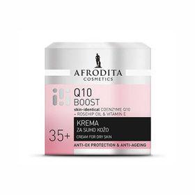 Slika Afrodita Q10 Boost krema za suho kožo, 50 mL