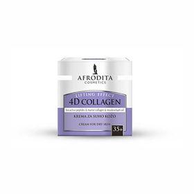 Slika Afrodita 4D Collagen Lifting Effect krema za suho kožo, 50 mL