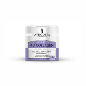 Slika Afrodita 4D Collagen Lifting Effect krema za normalno do mešano kožo, 50 mL