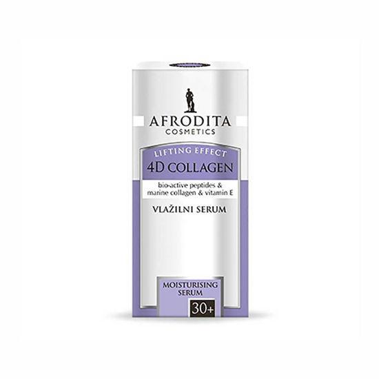 Afrodita 4D Collagen Lifting Effect vlažilni serum, 30 mL