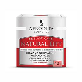 Slika Afrodita Natural Lift krema za normalno do mešano kožo, 50 mL