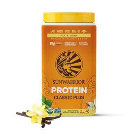 Slika SunWarrior Classic Plus vanilija rastlinski proteini, 12 x 25 g, 375 ali 700 g