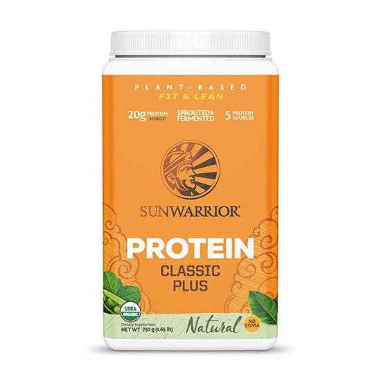 SunWarrior Classic Plus naravni rastlinski proteini, 375 ali 700 g