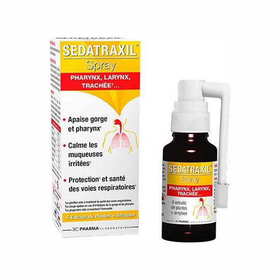 3 Chenes Sedatraxil sprej za grlo, 20 mL