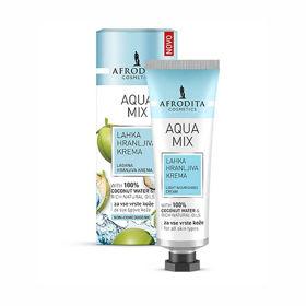 Slika Afrodita Aqua Mix lahka hranljiva krema, 50 mL