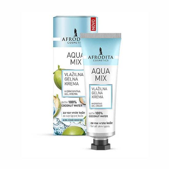 Afrodita Aqua Mix vlažilna gelna krema, 50 mL