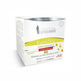 Slika Afrodita Kamilica Extra Sensitive 24h krema za zelo občutljivo kožo, 50 mL