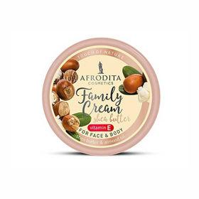 Slika Afrodita Family Cream Shea Butter, 150 mL
