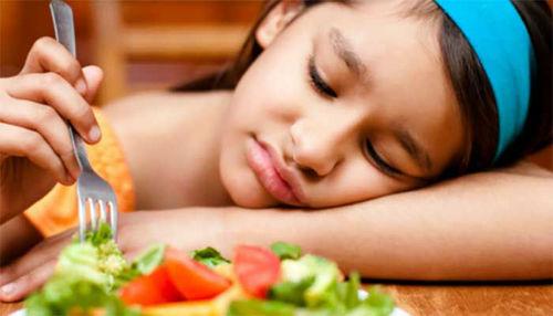 Apetit otroka, pomanjkanje apetita