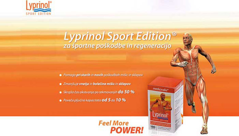 Picture of Lyprinol Sport in Lyprinol Medicinalis - kakšne so razlike?