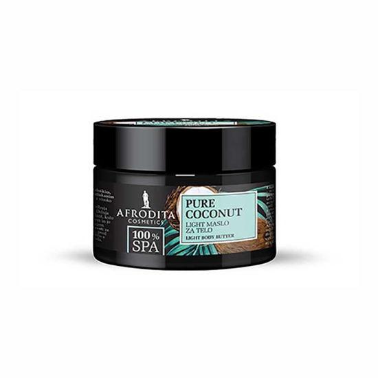 Afrodita 100% SPA Pure Coconut Light maslo za telo, 200 mL