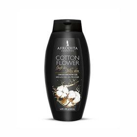 Slika Afrodita Cotton Flower kremni gel za prhanje, 250 mL