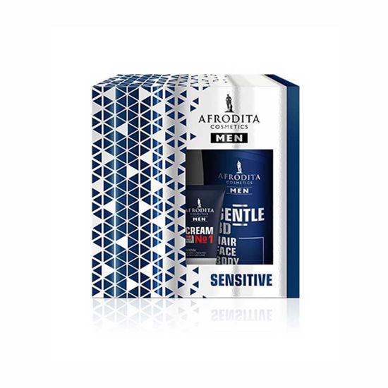 Afrodita Men Sensitive darilni paket, 1 set