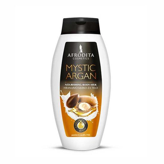 Afrodita Mystic Argan hranljivo mleko za telo, 250 mL