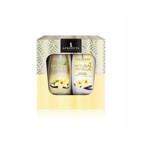 Slika Afrodita Natural Vanilla darilni paket,1 set