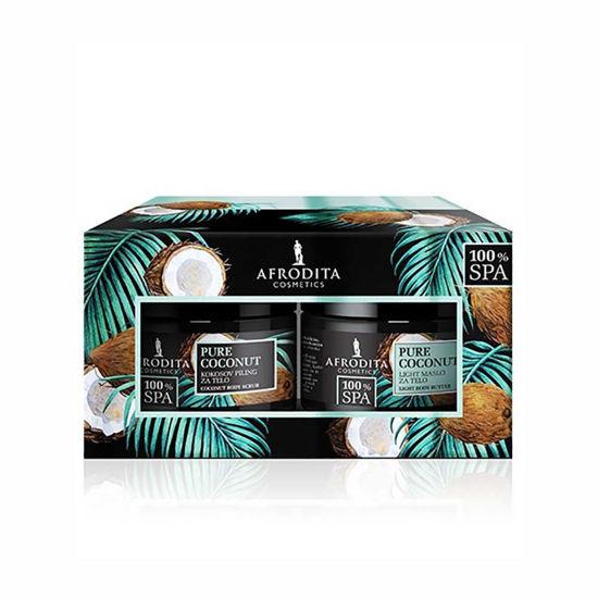 Afrodita Pure Coconut darilni paket, 1 set