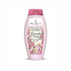 Slika Afrodita Secret Garden Romantic Peony kremni gel za prhanje, 250 mL