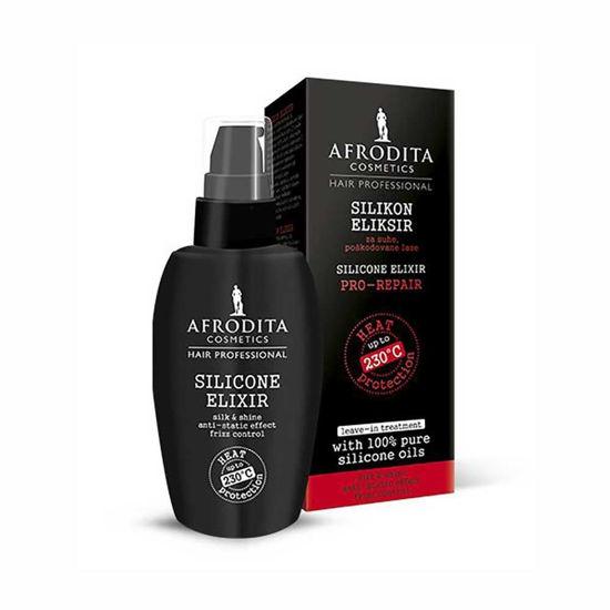 Afrodita Silikon eliksir za lase, 30 mL
