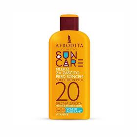 Slika Afrodita Sun Care mleko za zaščito pred soncem ZF 20, 200 mL