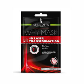 Slika Afrodita Why Mask 4D laser maska, 2 x 6 mL