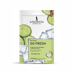 Slika Afrodita Why Mask Go Fresh hladilna gelna maska za dehidrirano kožo, 2 x 6 mL