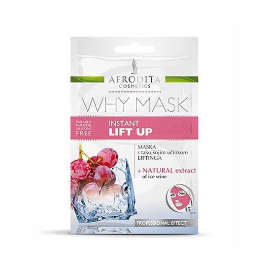 Afrodita Why Mask Instant Lift Up maska, 2 x 4 mL