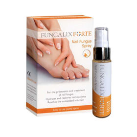 Slika Fungalix Forte za zdravljenje in preprečevanje glivičnih nohtov, 30 mL