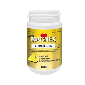 Slika Magnex citrat 375 mg + B6 Chew, 100 žvečljivih tablet