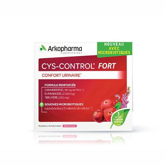 Cys-Control Fort, 10 vrečk po 4 g + 5 vrečk 1,5 g