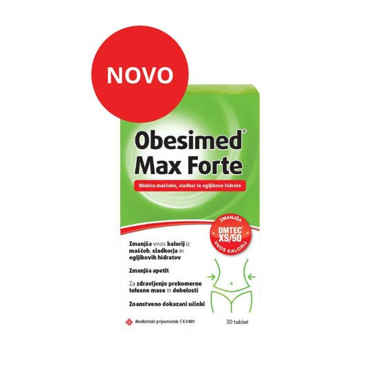 Obesimed Max Forte, 30 tablet