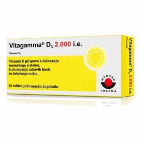 Slika Vitagamma D3 2.000 i.e., 50 tablet