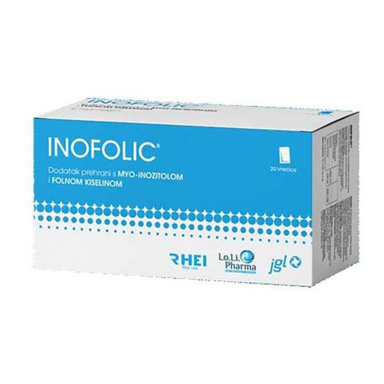 Inofolic folna kislina + mioinozitol, 20 vrečk