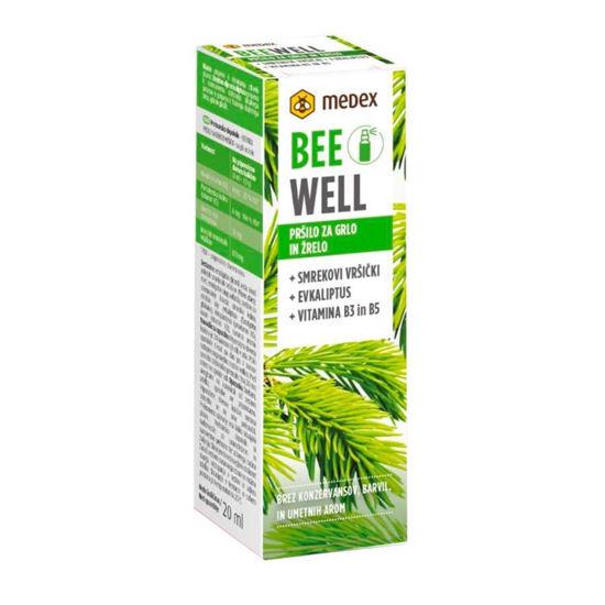 Medex Be Well smrekovi vršički pršilo za grlo, 20 mL