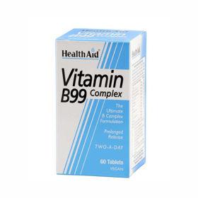 Slika HealthAid Vitamin B99 Complex vitamini, 60 tablet
