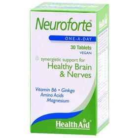 Slika HealthAid NeuroForte spomin in koncentracija, 30 tablet
