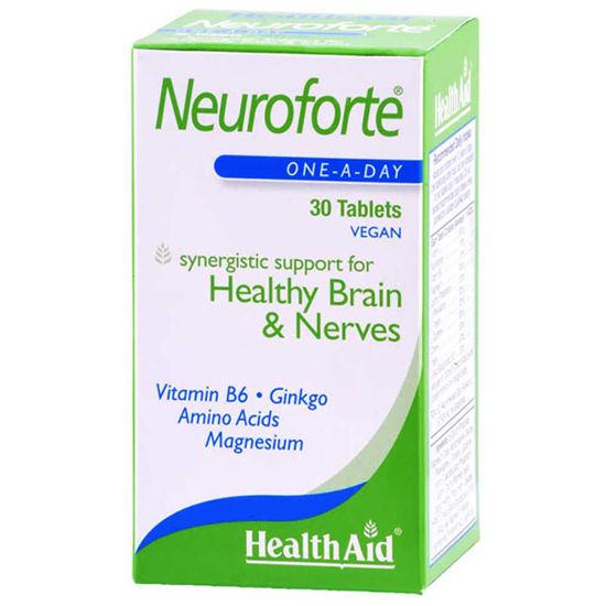 HealthAid NeuroForte spomin in koncentracija, 30 tablet
