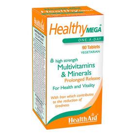 Slika HealthAid Healthy Mega multivitamini, 30 tablet