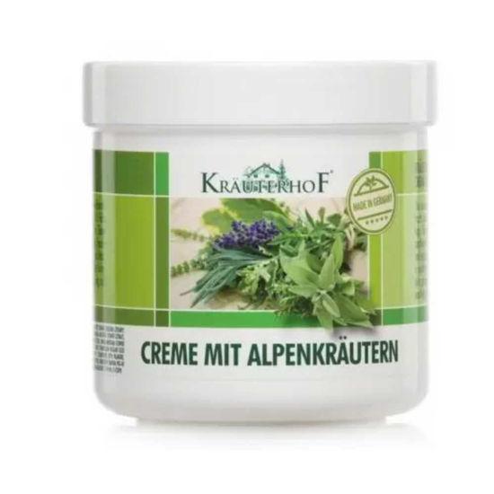Krauterhof krema z alpskimi zelišči, 250 mL