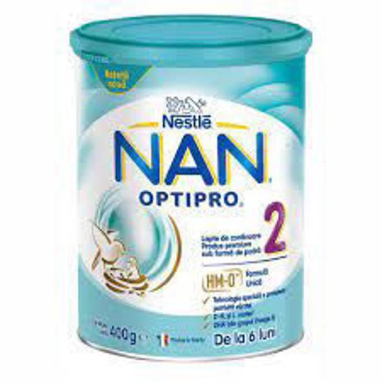 Nan OptiPro 2 nadaljevalno mleko, 400 g