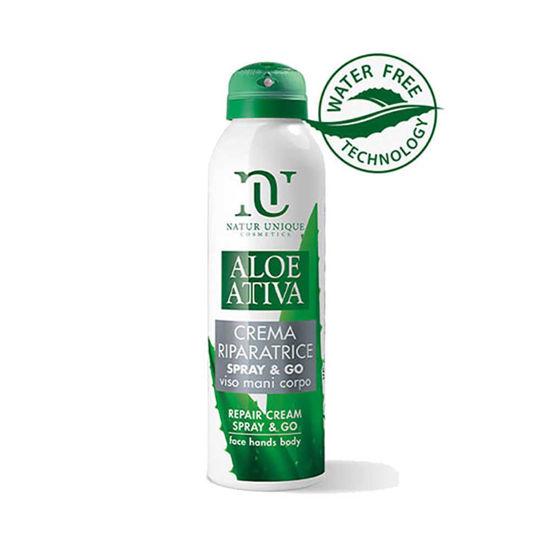 Natur Unique Aloe Attiva Spray & Go čisti gel 99,9%, 150 mL