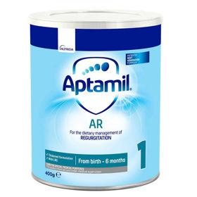 Slika Aptamil AR 1 ali 2 (Anti Regurgitation) hrana za dojenčke proti polivanju, 400 g