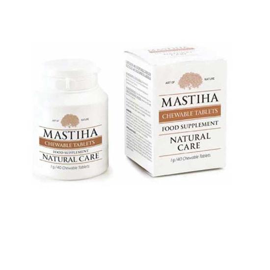 Mastika žvečljive tablete, 40 tablet