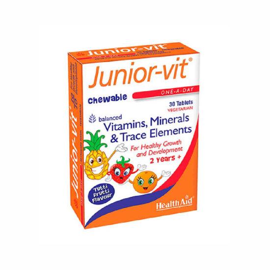Health-Aid Junior-Vit vitamini in minerali, 30 tablet