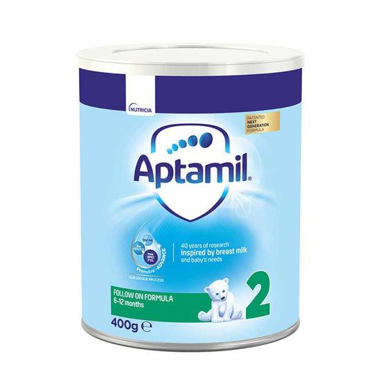 Aptamil 2 nadaljevalno mleko, 400 g